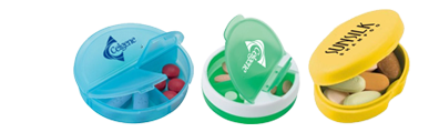 Custom Pill Boxes & Pill Holder Keychain