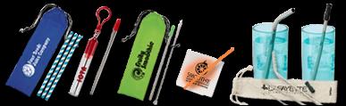 Custom Straws & Accessories