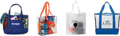 Custom Mesh Tote Bags