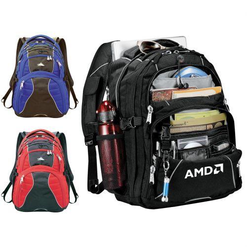 Custom High Sierra Swerve Computer Backpacks 7e683517539d1