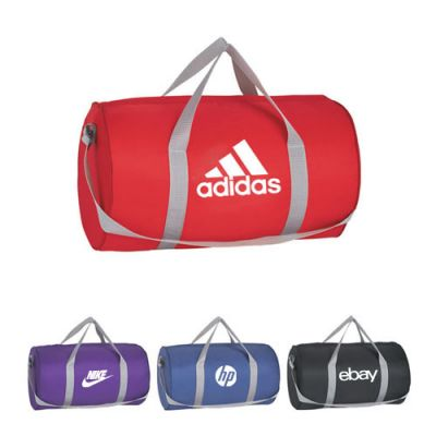 Custom Logo Imprinted Budget Duffel Bags