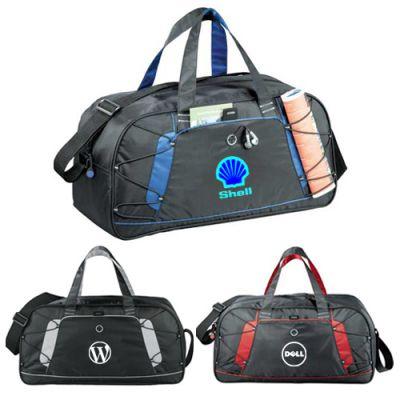 Personalized Shockwave Sport Duffel Bags