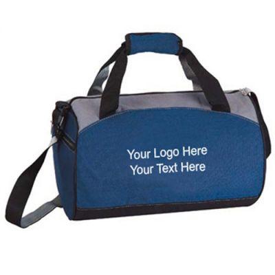 Custom Printed Compact Barrel Duffel Bags