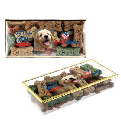 Custom Dog Bones in Gold Rimmed Boxes