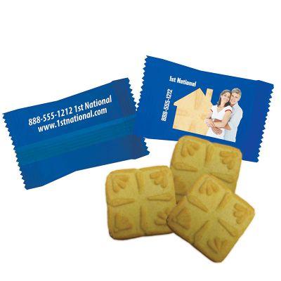 Custom Imprinted Shortbread Cookie Packs