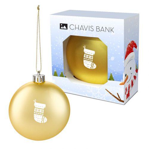 Custom Ornaments with Custom Window Box
