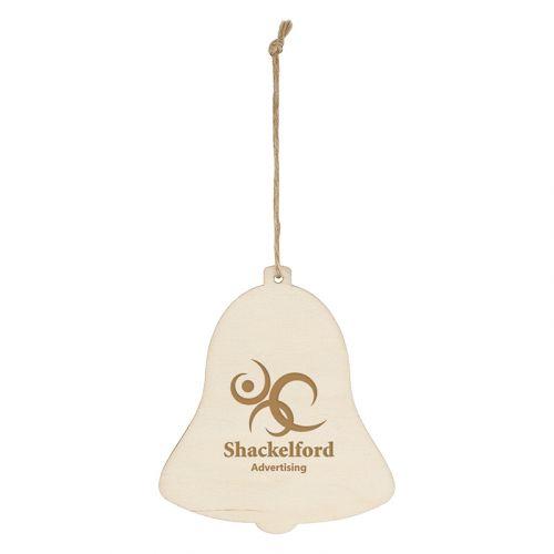 Custom Wood Ornaments - Bell