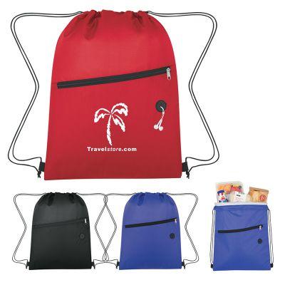 Promotional Tilt Drawstring Cooler Sports Packs