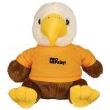 Custom Printed 8.5 Inch Liberty Eagle Plush Toy
