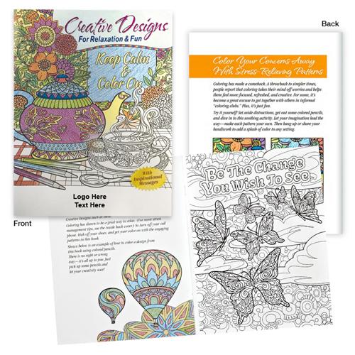Custom Adult Coloring Books