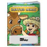 Promotional Barnyard Animals Coloring Books