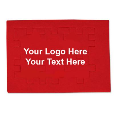 Custom Printed Foam Puzzle - Red