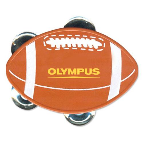 Logo Imprinted Football Tambourine