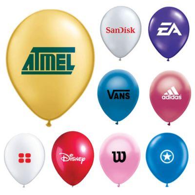Printed Metallic Color Balloons