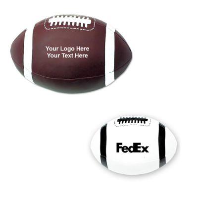 4 Inch Custom Printed Plush Footballs
