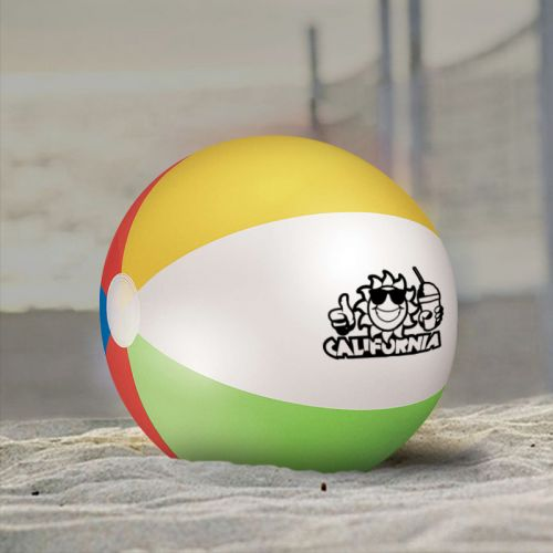 12 Inch Custom Printed Beach Balls