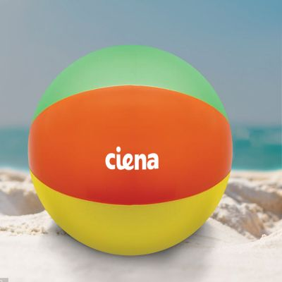 Custom 16 Inch Multi-Colored Beach Balls