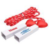 Custom Printed Heart Fitness Jump Rope