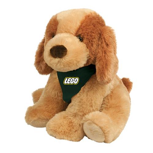 Custom Imprinted Plush Puppy Toys