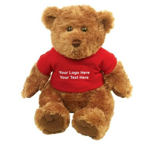 Custom Printed Traditional Teddy Bear Brown