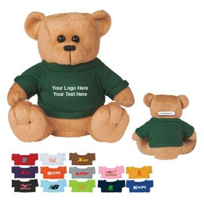 Custom Big Bucks Plush Bear Banks