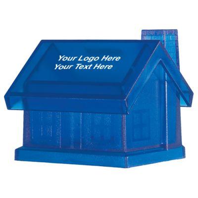 Custom Plastic House Shape Banks