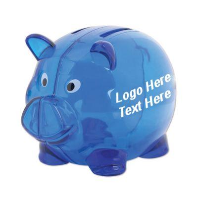 Custom Printed 2 Slot Piggy Banks