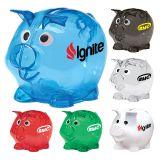 Customized Mini Plastic Piggy Banks