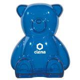 Personalized Plastic Bear Shape Banks