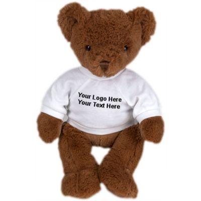 Custom Printed Nutmeg Bear