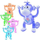 Customized 24 Inch Inflatable Monkey