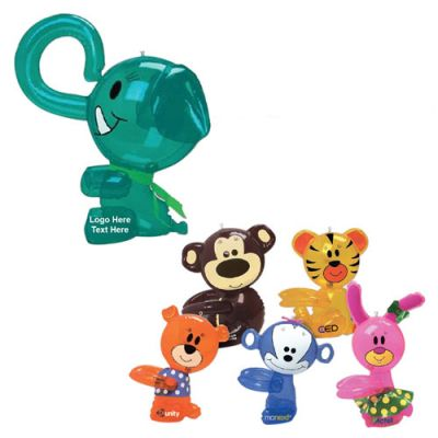 Customized Assorted Hugger Critter Inflates