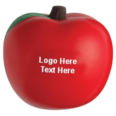 Custom Apple Shaped Stress Relievers