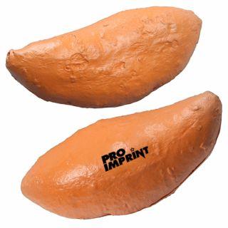 Custom Imprinted Sweet Potato Stress Relievers