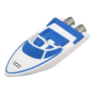 Custom Printed Speedboat Stress Relievers