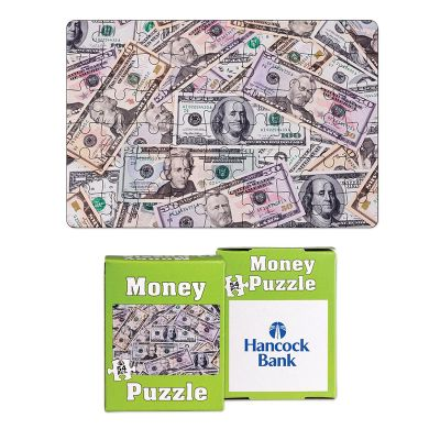 Personalized 54 Piece Mini Money Puzzles