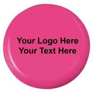4 Inch Promotional Logo Flying Coasters - 16 Colors