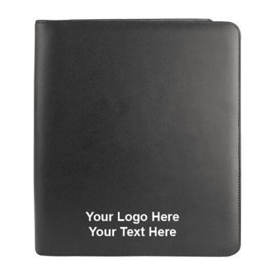 Custom Adjustable Zip-Around Writing Pad And iPad Holders