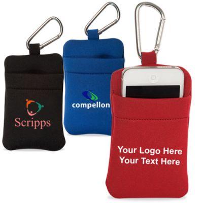 Custom Imprinted Neoprene Phone Holders