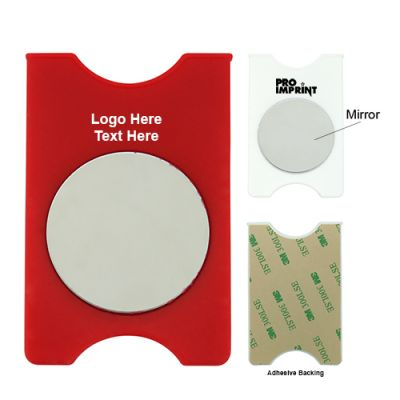 Promotional Logo Smartphone Wallet Mirror