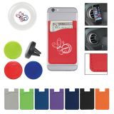 Promotional Magnetic Auto Air Vent Phone Wallets