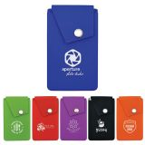 Promotional Silicone Snap Pocket Phone Wallets