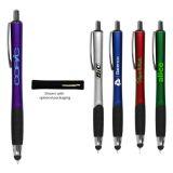 Promotional Logo Noble Grip Stylus Pen with 5 Colors