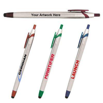 Promotional Logo Streamliner Stylus Pens