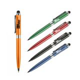 Promotional Logo Twist Action Stylus Pen with...