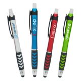 Promotional Pointer Click Stylus Pen with 4 Colors
