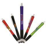 Promotional Tech Grip Stylus Pen with 5 Colors