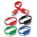 Custom Imprinted 1 GB Slim Bracelet USB 2.0 Flash Drives