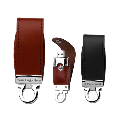 Customized 128mb Usb 2 0 Leather Flash Drive Usb Flash