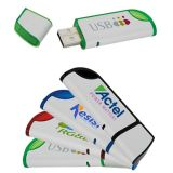 Customized 512 MB Slanted USB 2.0 Flash Drives